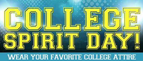 College Spirit Day - Tri-Valley Middle School