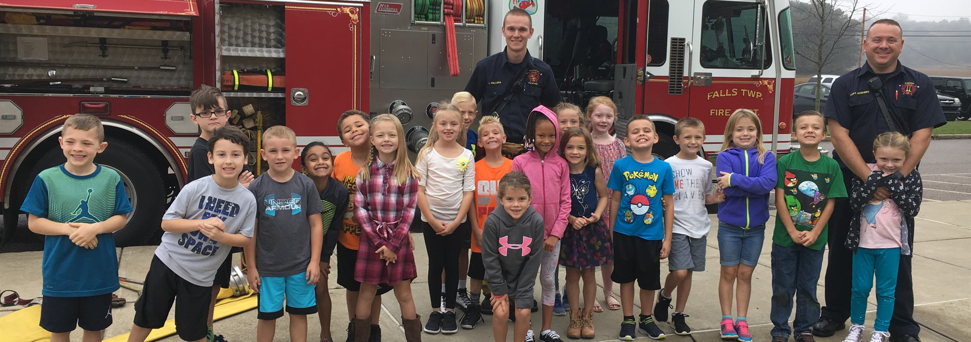 A Visit from Falls Township Fire Department