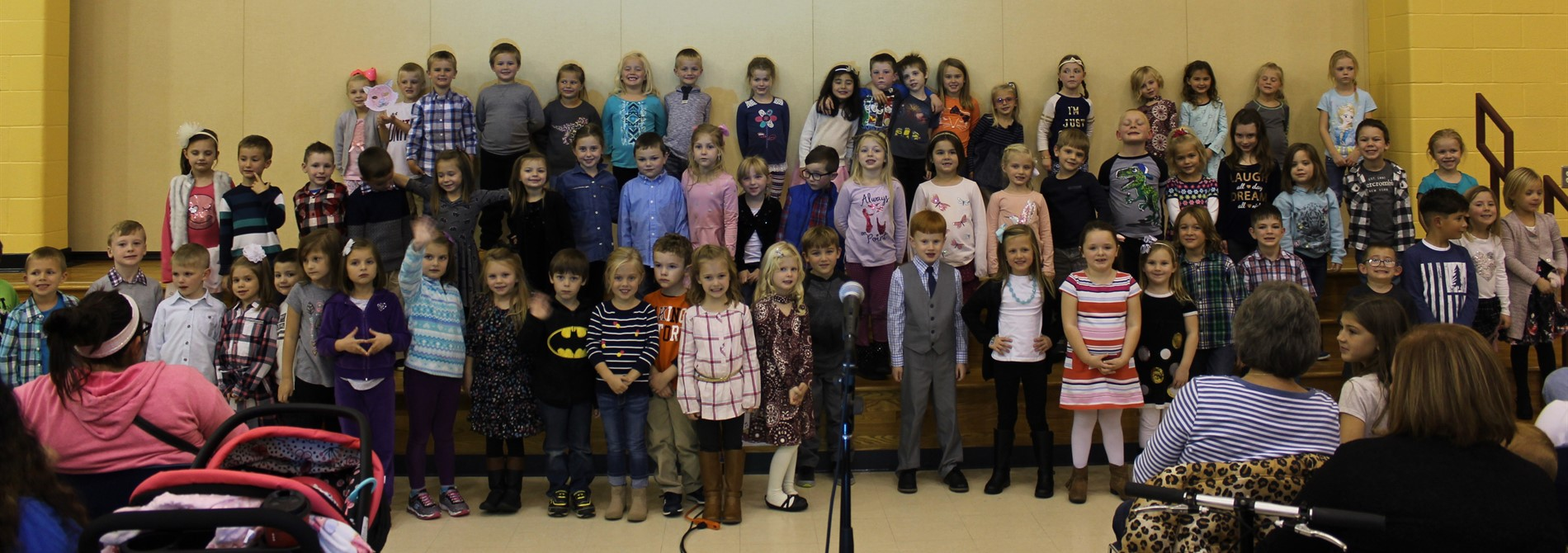Nashport Kindergarten Celebrates Art & Music