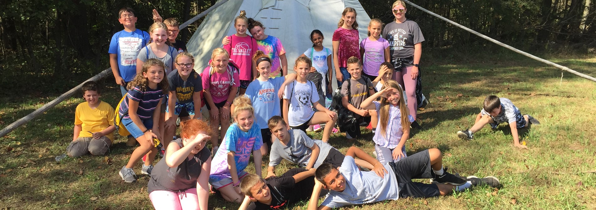 5th Grade Fun at Camp Ohio!