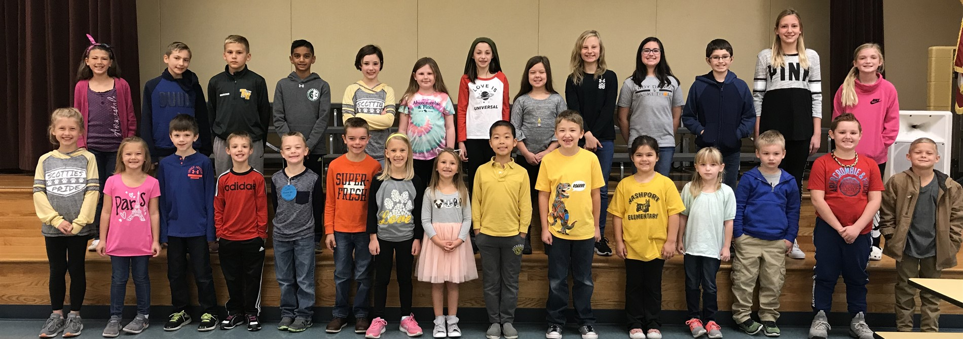 Congratulations October Super Scotties!