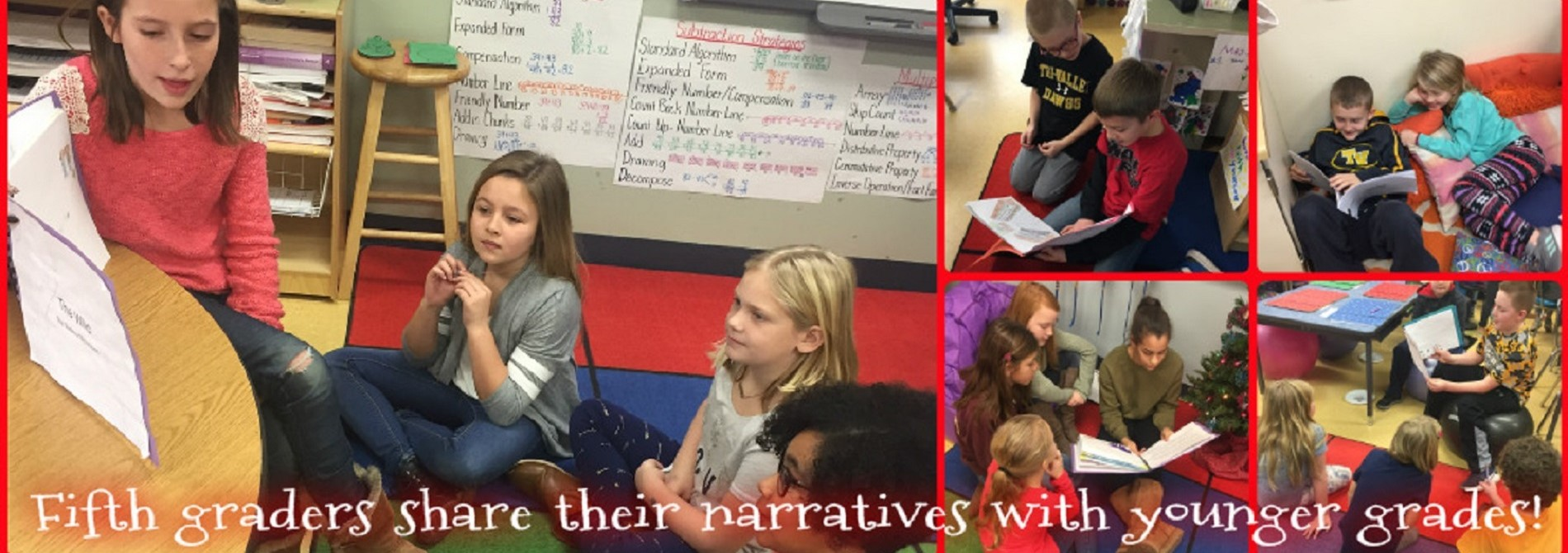 5th Grade Authors Share Narratives