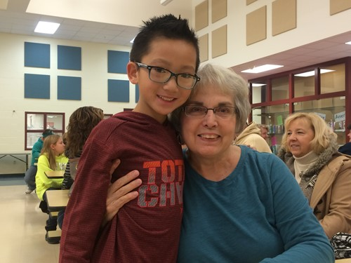4th Graders Celebrate Their Grandparents