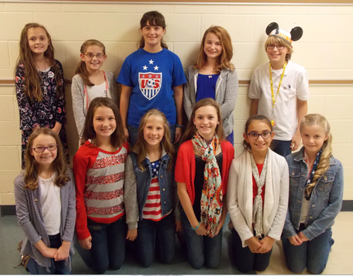 Congratulations to the 5th grade students that earned prizes in the Muskingum County Salute to Veterans Day art and essay contests sponsored by the Muskingum County Veterans Day committee. Nashport students were 11 of the 16 winners.