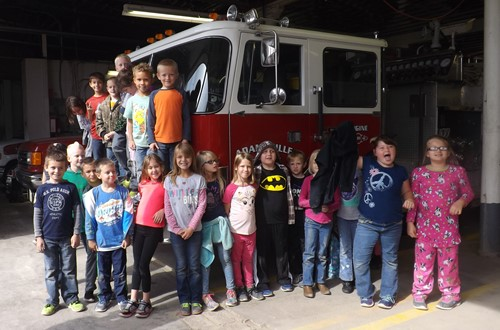 Thank you Adamsville Volunteer Fire Department!