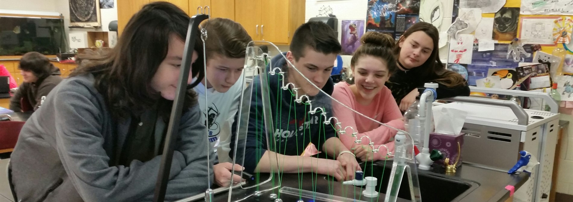 8th Grade Science Fun!