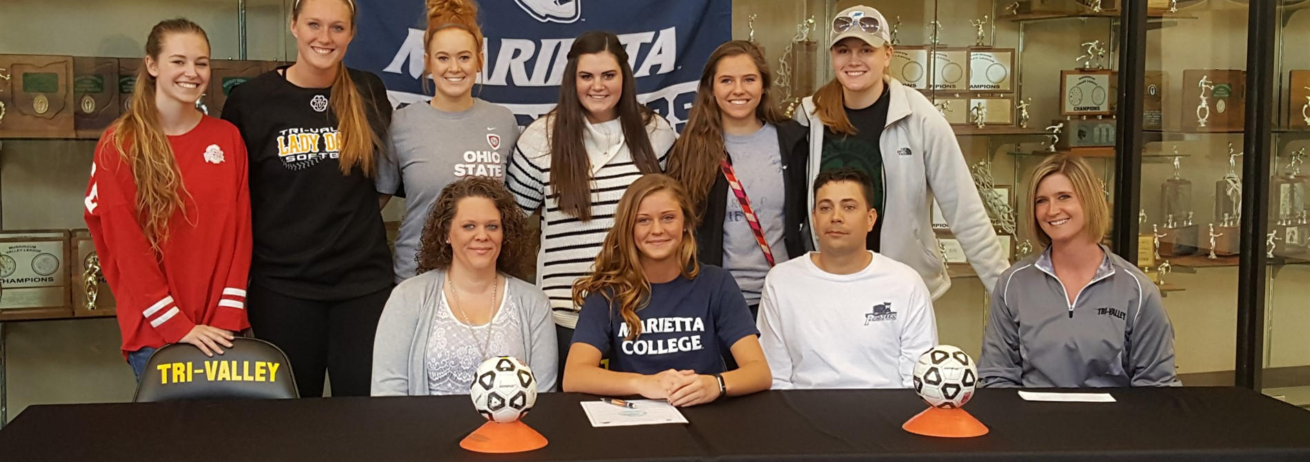 Chloe Williams signing to continue her soccer career at Marietta College