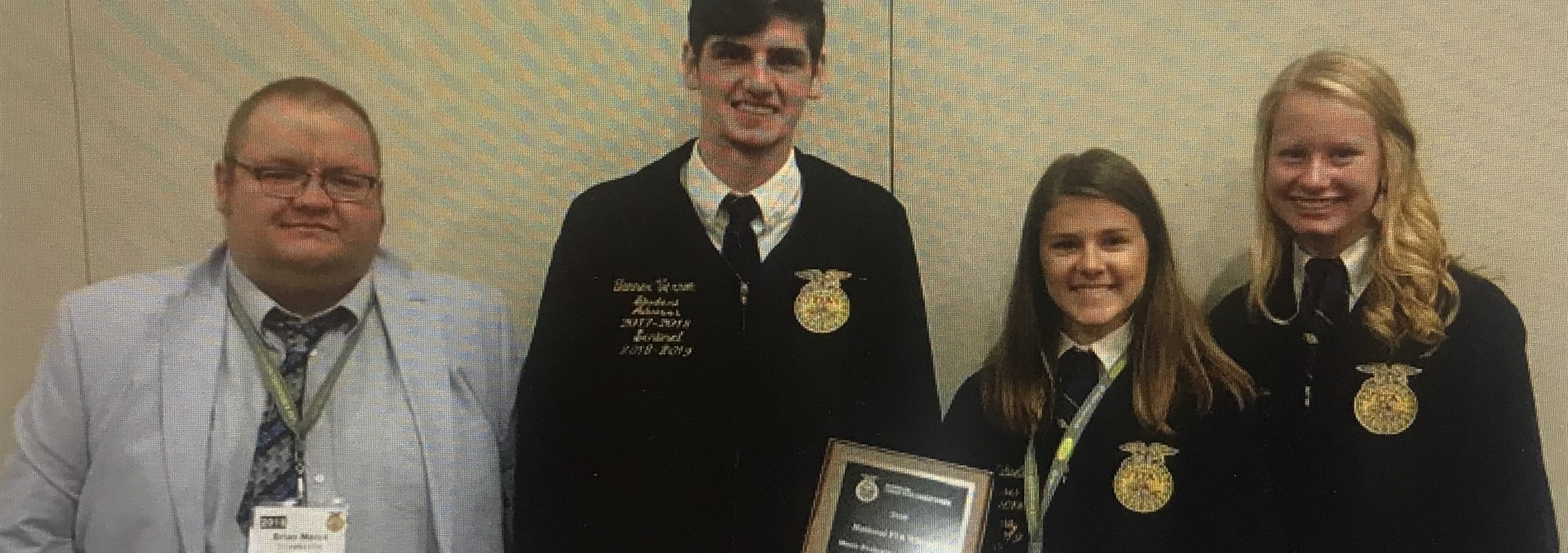 Congrats! Placed 12th in National Meats Contest!