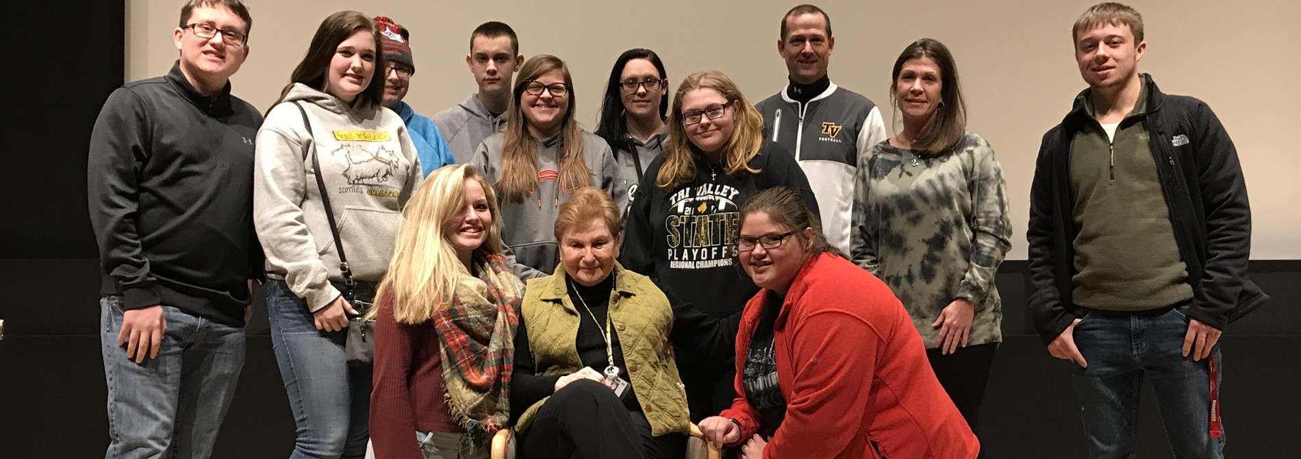 Mr. Sims Holocaust class had an opportunity to visit the United States Holocaust Memorial Museum and hear survivor Josie Traum's testimony.