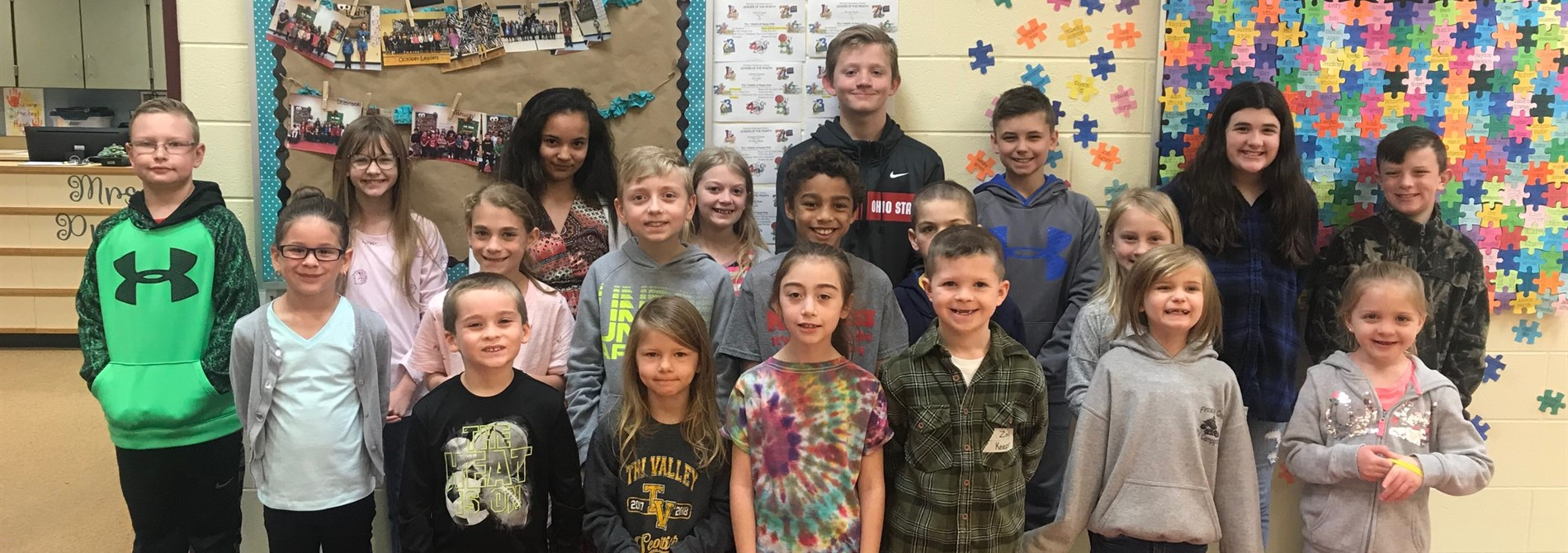 Congrats to March Leaders of the Month!!